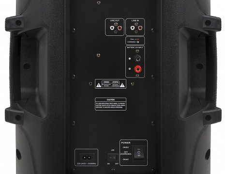 Skaņas sistēma ar karaoke  ZND_DOMINATOR