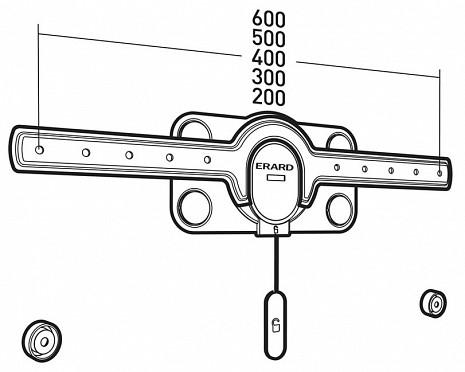 Sienas kronšteins  Fixit600