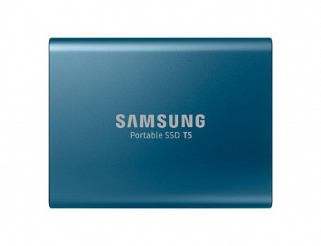 Cietais disks External SSD|SAMSUNG|T5|500GB|Write speed 540 MBytes/sec|Read speed 540 MBytes/sec|MU-PA500B/EU MU-PA500B/EU