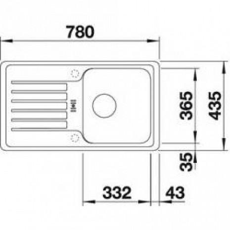 Mākslīga granīta izlietne  B518184