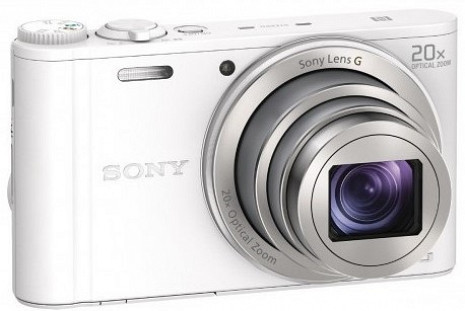 Digitālais fotoaparāts DSC-WX350 DSCWX350W.CE3