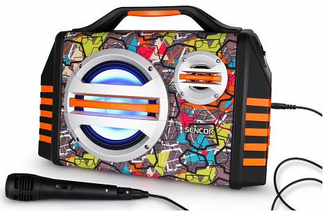 Skaņas sistēma ar karaoke  SSS 3200 KIDS
