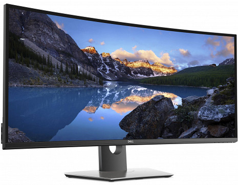 "Monitors UltraSharp 38 Curved U3818DW 37.5 "", 3840 x 1600 pixels, 21:9, LED, IPS, 5 ms, 300 cd/m², Black 210-AMQB_5Y"
