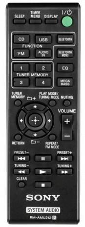 Mikro Hi-Fi sistēma  CMTSBT20.CEL