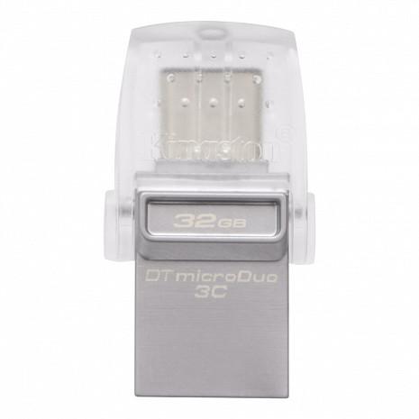 USB zibatmiņa 32GB DataTraveler microDuo USB3.1 Flash Drive DTDUO3C/32GB