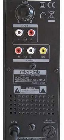 Datora skaļruņi  FC-530U