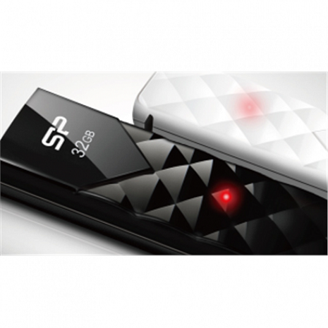 USB zibatmiņa Silicon Power Ultima U03 32 GB, USB 2.0, Black SP032GBUF2U03V1K