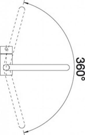 Izlietnes jaucējkrāns  B512324