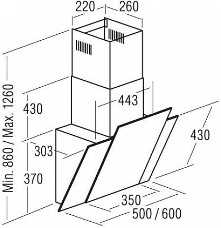 Tvaika nosūcējs  Podium500 XGBK