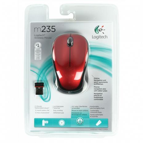 Bezvadu datorpele LGT-M235R Black, Red 910-002496