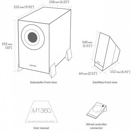 Datora skaļruņi M1360 M1360