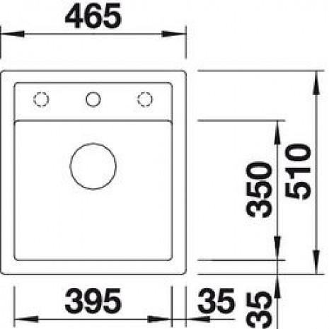 Mākslīga granīta izlietne  B517160