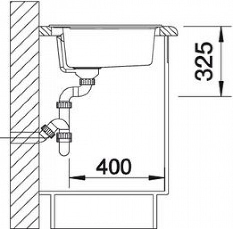 Mākslīga granīta izlietne  B515676