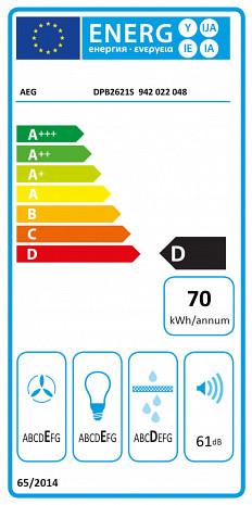 Tvaika nosūcējs  DPB2621S