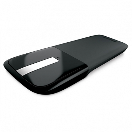 Datorpele RVF-00056 Arc Touch Mouse Black, Silver RVF-00056