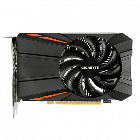 Grafiskā karte NVIDIA, 4 GB, GeForce GTX 1050 Ti GV-N105TD5-4GD 1.1