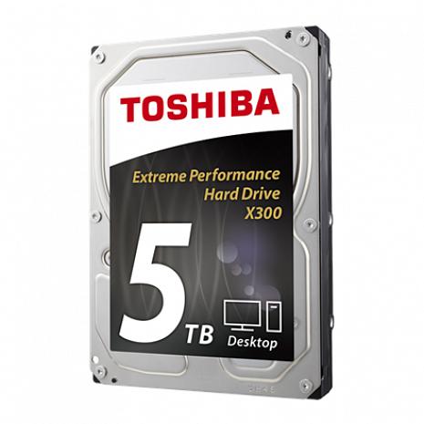 Cietais disks X300 5TB 7200 RPM, 3.5 inch, HDD, 128 MB HDWE150EZSTA