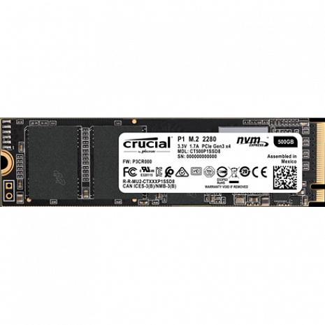 SSD disks P1 500 GB CT500P1SSD8
