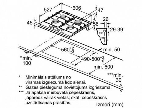 Plīts virsma  PRP6A6D70