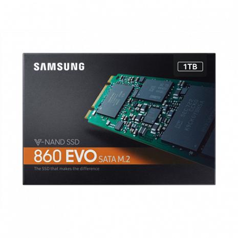 SSD disks 860 EVO MZ-N6E1T0BW