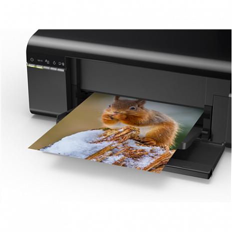 Printeris L805 Colour, Inkjet, Photo Printer, Wi-Fi, A4, Black C11CE86401