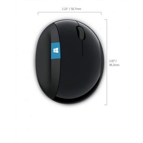 Datorpele 5LV-00002 Sculpt Ergonomic Mouse for Business Black 5LV-00002