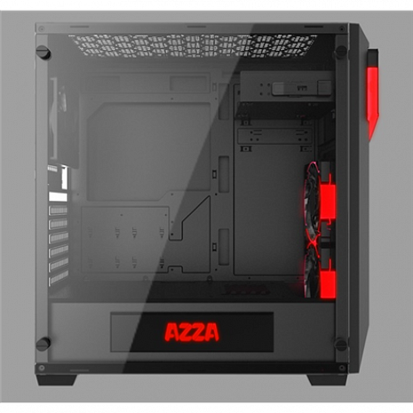Datora korpuss Inferno 310, with RGB fans, Tempered Glass Side window 3021