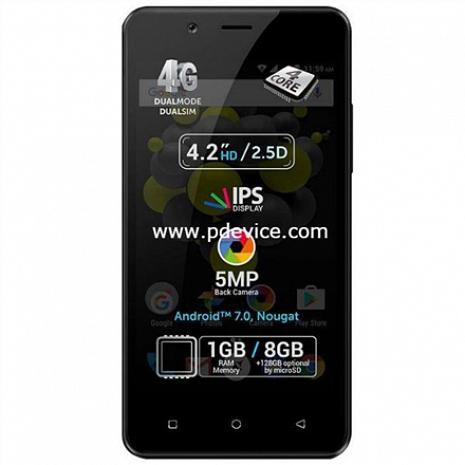 Viedtālrunis P4 Pro Black P4 Pro