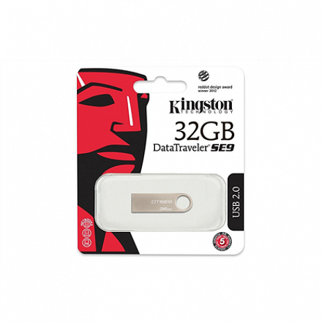 USB zibatmiņa DataTraveler SE9 32 GB, USB 2.0, Beige DTSE9H/32GB
