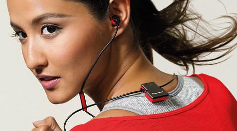 Bluetooth bezvadu austiņas  SE-CL5BT-R
