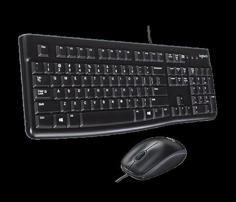 Klaviatūras un peles komplekts MK120 920-002561