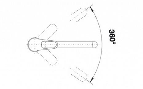Izlietnes jaucējkrāns  B137228