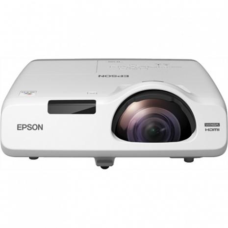 Projektors Short Throw Series EB-535W WXGA (1280x800), 3400 ANSI lumens, 16.000:1, White V11H671040