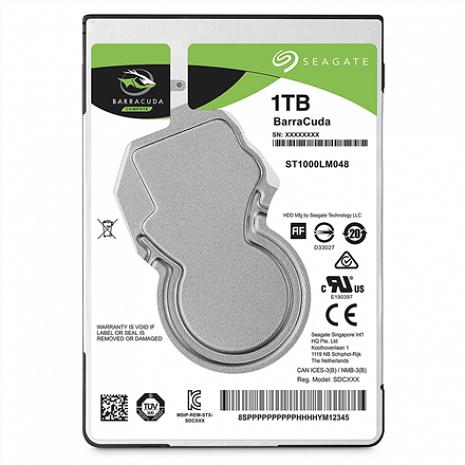 Cietais disks BarraCuda ST1000LM048 5400 RPM, 1000 GB, 128 MB ST1000LM048