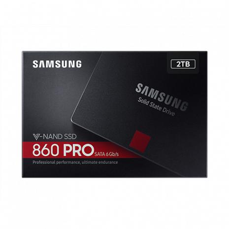 SSD disks 860 PRO 2TB MZ-76P2T0B/EU
