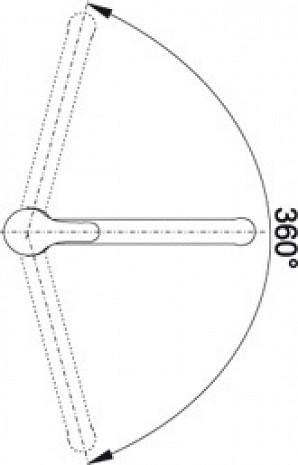 Izlietnes jaucējkrāns  B515366