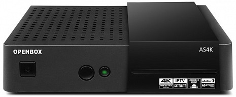 Ultra HD 4K satelīta televīzijas uztvērējs  OPENBOX AS4K