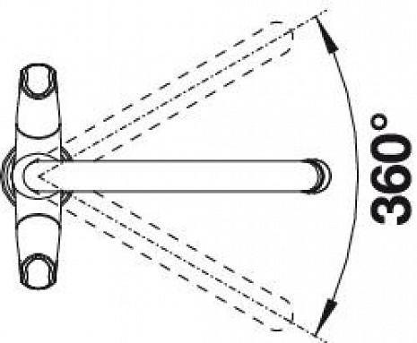Izlietnes jaucējkrāns  B520769