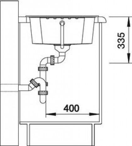 Mākslīga granīta izlietne  B516923