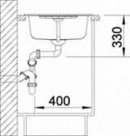 Mākslīga granīta izlietne  B514728