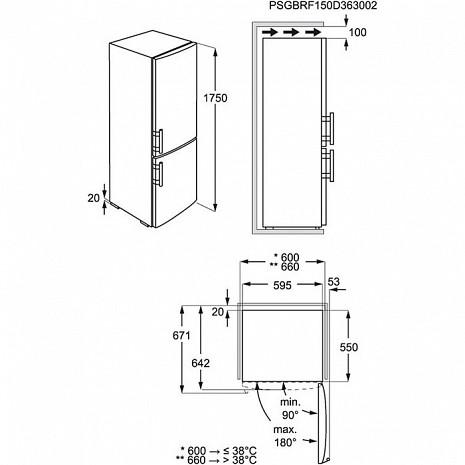 Ledusskapis  EN3201MOX