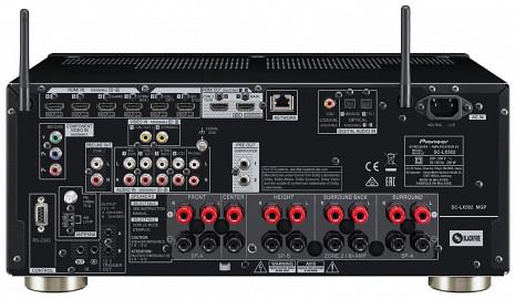 AV Resīveris  SC-LX502-B