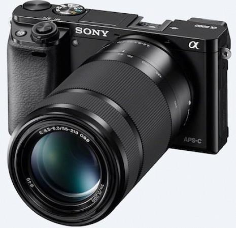 Hibrīda fotoaparāts ILCE-6000L/B ILCE6000LB.CEC