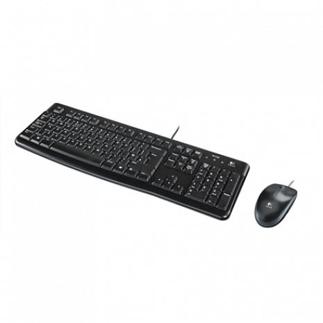 Klaviatūra MK120 Keyboard and Mouse, Keyboard layout Russian, Black 920-002561