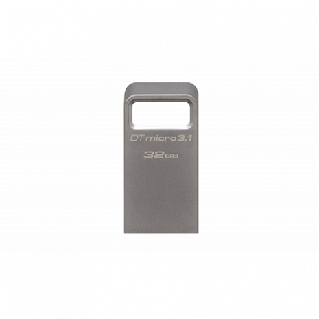 USB zibatmiņa DataTraveler Micro 3.1 32 GB, USB 3.1, Silver DTMC3/32GB