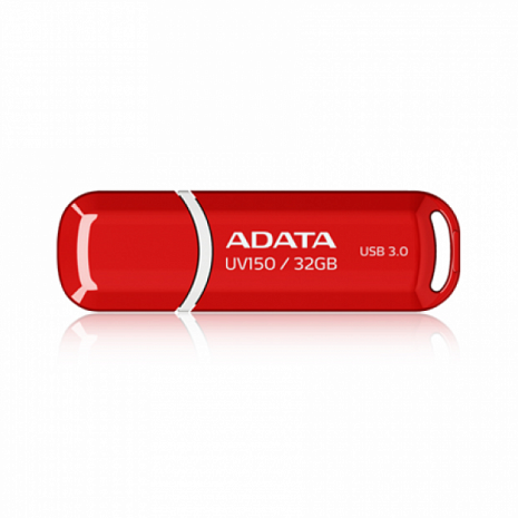 USB zibatmiņa UV150 32GB,USB,3.0,Red AUV150-32G-RRD