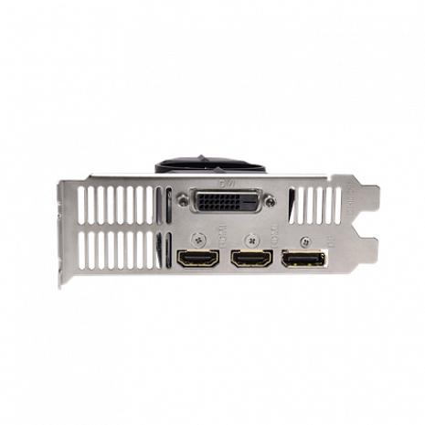 Grafiskā karte Low Profile NVIDIA, 4 GB, GeForce GTX 1050 Ti GV-N105TOC-4GL