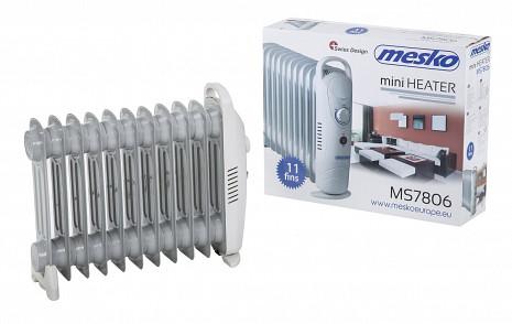 Eļļas radiators  MS 7806