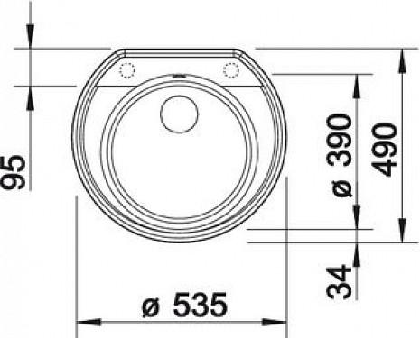 Mākslīga granīta izlietne  B515670