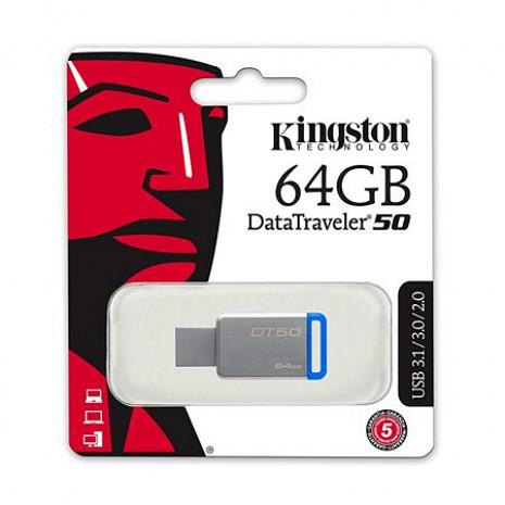 USB zibatmiņa MEMORY DRIVE FLASH USB3.1 64GB DT50/64GB DT50/64GB